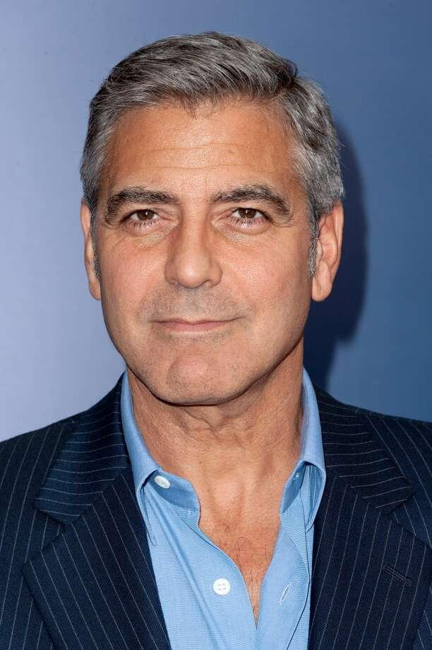 The typically slim and dashing George Clooney wasn't so slim in `Syriana.' Photo: D Dipasupil, FilmMagic