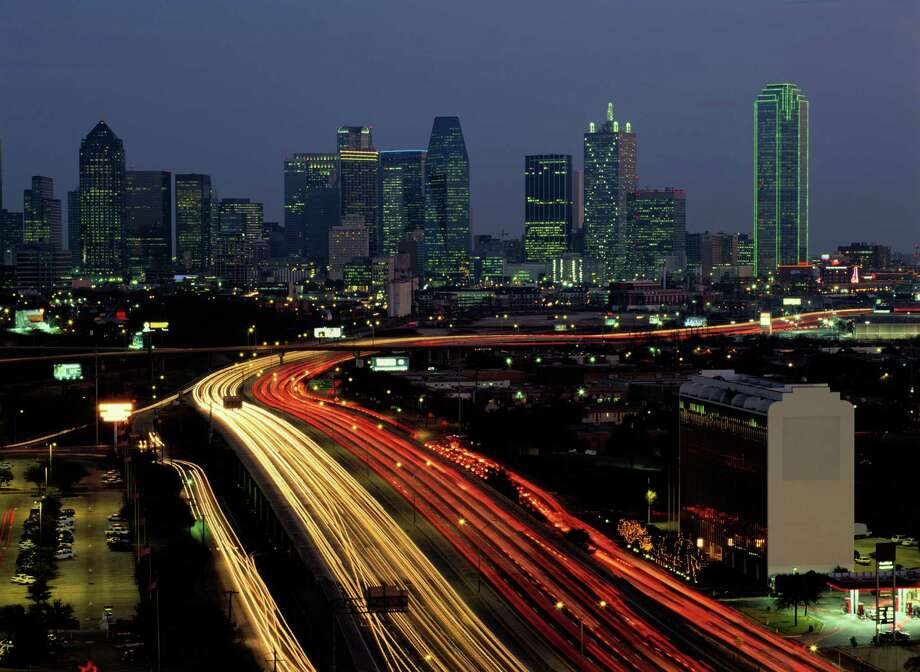 Dallas' I-35 east and westThey cover 97 and 85 miles, respectively, through the Dallas metropolitan area. I-35E sees about 125,000 vehicles a day in its urban areas and 30,000 in its rural areas. I-35W sees about 85,000 vehicles a day in urban areas and 24,000 in rural sections.Source: Federal Highway Administration Photo: Jeremy Woodhouse, Getty Images / (c) Jeremy Woodhouse