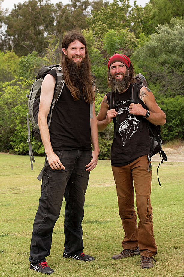 Childhood Friends Brandon Squyres (left) and Adam Switzer (right)compete in a sprint around the globe for $1 million dollars on the new season of THE AMAZING RACE, premiering Sunday, Sept. 29 (8:00-9:00 PM, ET/PT) on the CBS Television Network.  Photo: Cliff Lipson/CBS ©2013 CBS Broadcasting, Inc. All Rights Reserved. Photo: Cliff Lipson, ©2013 CBS Broadcasting, Inc. All Rights Reserved. / ©2013 CBS Broadcasting, Inc. All Rights Reserved.
