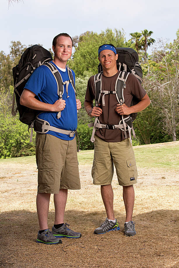 Best Friends Tim Wiyninger (left) and Danny Merkey (right) compete in a sprint around the globe for $1 million dollars on the new season of THE AMAZING RACE, premiering Sunday, Sept. 29 (8:00-9:00 PM, ET/PT) on the CBS Television Network.  Photo: Cliff Lipson/CBS ©2013 CBS Broadcasting, Inc. All Rights Reserved. Photo: Cliff Lipson, ©2013 CBS Broadcasting, Inc. All Rights Reserved. / ©2013 CBS Broadcasting, Inc. All Rights Reserved.