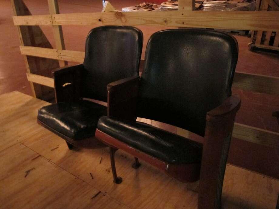 The new seats will be slightly larger than the originals. Photo: Benjamin Olivo, MySA.com