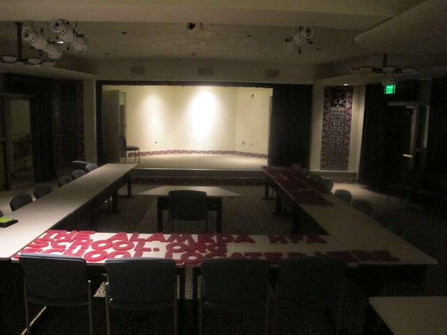 The 200-seat Koehler Auditorium inside the Alameda complex. Photo: Benjamin Olivo, MySA.com