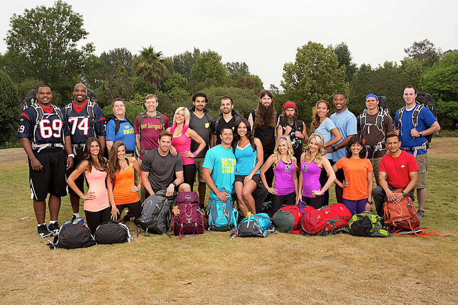 11 teams will embark on a sprint around the globe for $1 million dollars on the new season of THE AMAZING RACE, premiering Sunday, Sept. 29 (8:00-9:00 PM, ET/PT) on the CBS Television Network. Teams will travel through 4 continents, 9 countries, spanning over 35,000 miles where they will paraglide high above the skies of Iquique, Chile, subject themselves to a bone-chilling plunge in Norway and buckle up for Formula Racing in Abu Dhabi.  Pictured: Top Row, L-R: Chester and Ephraim, Rowan and Shane, Jamal and Leo, Brandon and Adam, Nicole and Trvis, Danny and Tim; Botton Row, L-R: Nicole and Kim, Tim and Marie, Jason and Amy, Ally and Ashley, Naina and Hoskote Photo: Cliff Lipson/CBS ©2013 CBS Broadcasting, Inc. All Rights Reserved. Photo: Cliff Lipson, ©2013 CBS Broadcasting, Inc. All Rights Reserved. / ©2013 CBS Broadcasting, Inc. All Rights Reserved.