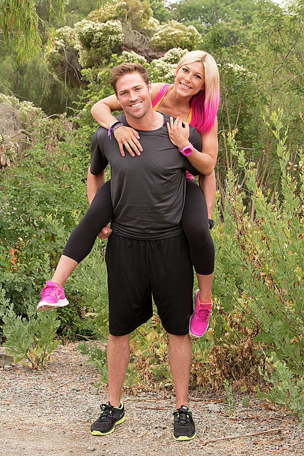 Ex-CoupleTim Sweeney (left) and Marie Mazzocchi (right) compete in a sprint around the globe for $1 million dollars on the new season of THE AMAZING RACE, premiering Sunday, Sept. 29 (8:00-9:00 PM, ET/PT) on the CBS Television Network.  Photo: Cliff Lipson/CBS ©2013 CBS Broadcasting, Inc. All Rights Reserved. Photo: Cliff Lipson, ©2013 CBS Broadcasting, Inc. All Rights Reserved. / ©2013 CBS Broadcasting, Inc. All Rights Reserved.