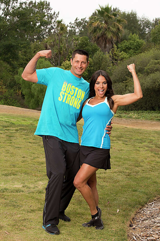 Dating couple Jason Case (left) and Amy Diaz (right) compete in a sprint around the globe for $1 million dollars on the new season of THE AMAZING RACE, premiering Sunday, Sept. 29 (8:00-9:00 PM, ET/PT) on the CBS Television Network.  Photo: Cliff Lipson/CBS ©2013 CBS Broadcasting, Inc. All Rights Reserved. Photo: Cliff Lipson, ©2013 CBS Broadcasting, Inc. All Rights Reserved. / ©2013 CBS Broadcasting, Inc. All Rights Reserved.