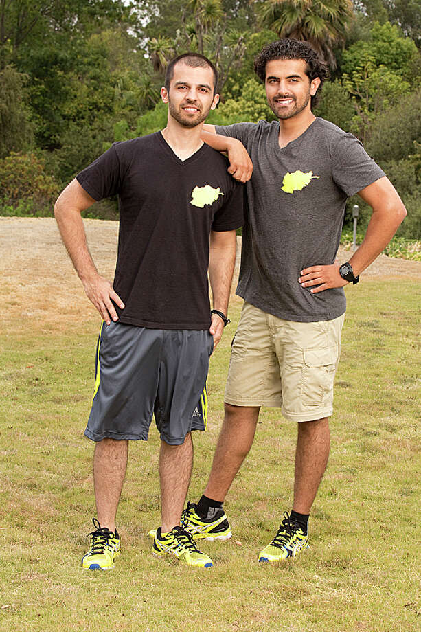 Cousins Leo Temory (left) and Jamal Zadran (right) compete in a sprint around the globe for $1 million dollars on the new season of THE AMAZING RACE, premiering Sunday, Sept. 29 (8:00-9:00 PM, ET/PT) on the CBS Television Network.  Photo: Cliff Lipson/CBS ©2013 CBS Broadcasting, Inc. All Rights Reserved. Photo: Cliff Lipson, ©2013 CBS Broadcasting, Inc. All Rights Reserved. / ©2013 CBS Broadcasting, Inc. All Rights Reserved.