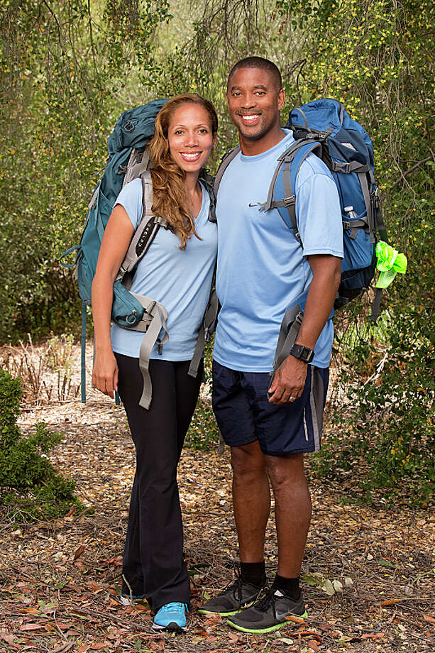 Married Doctors Nicole (left) and Travis Jasper (right) compete in a sprint around the globe for $1 million dollars on the new season of THE AMAZING RACE, premiering Sunday, Sept. 29 (8:00-9:00 PM, ET/PT) on the CBS Television Network.  Photo: Cliff Lipson/CBS ©2013 CBS Broadcasting, Inc. All Rights Reserved. Photo: Cliff Lipson, ©2013 CBS Broadcasting, Inc. All Rights Reserved. / ©2013 CBS Broadcasting, Inc. All Rights Reserved.