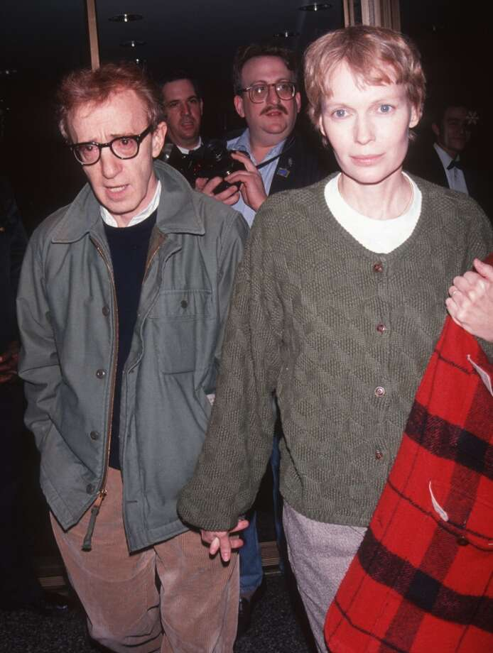Woody Allen and Mia Farrow. Photo: Ron Galella, Ltd., WireImage