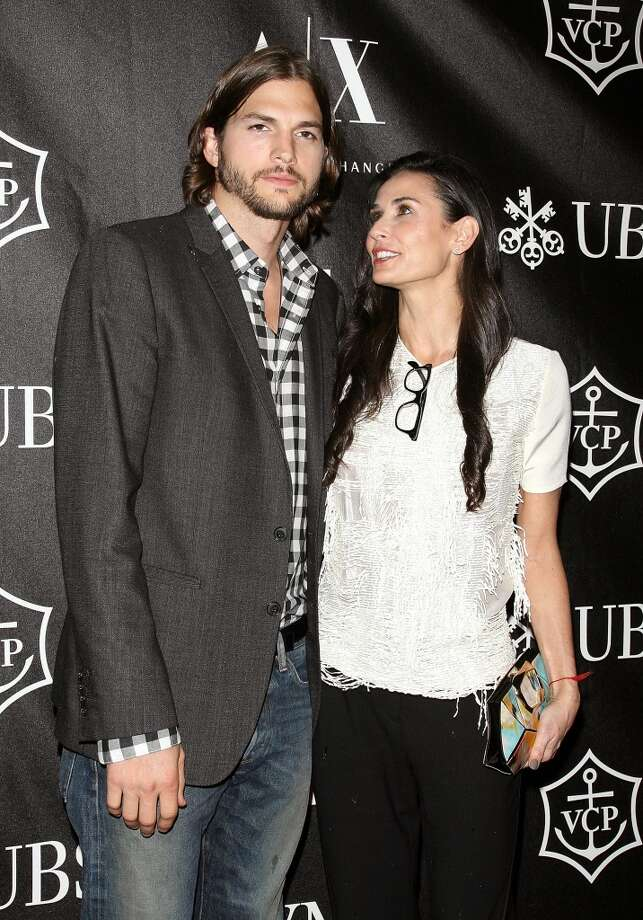 This one seemed inevitable, but the split of Ashton Kutcher and Demi Moore was still pretty big. Photo: Jim Spellman, WireImage