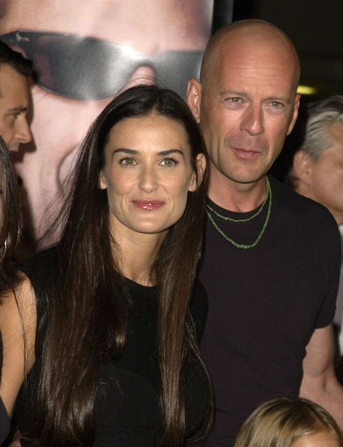 Demi Moore and Bruce Willis. Photo: SGranitz, WireImage