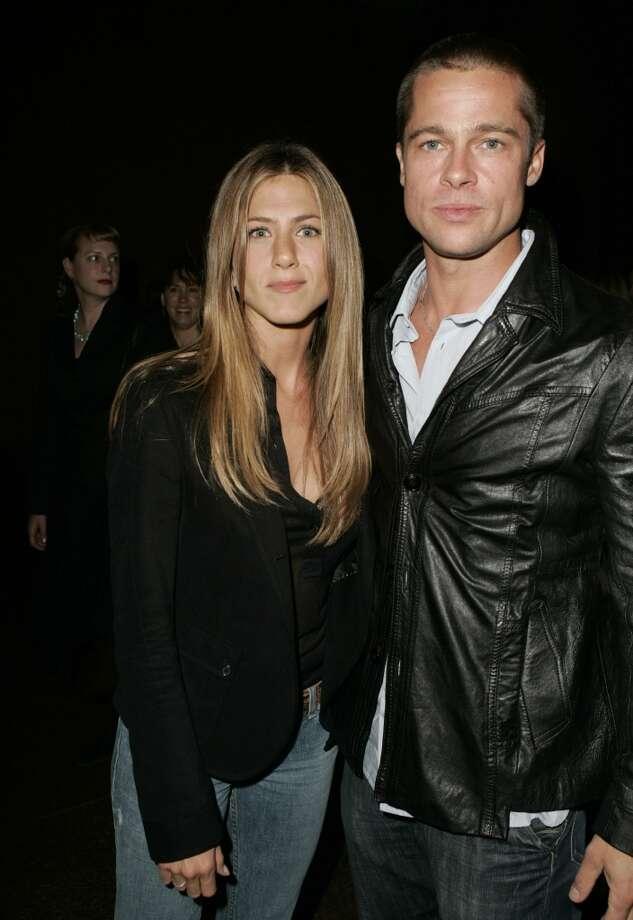 Jennifer Aniston and Brad Pitt. Photo: Jeff Vespa, WireImage