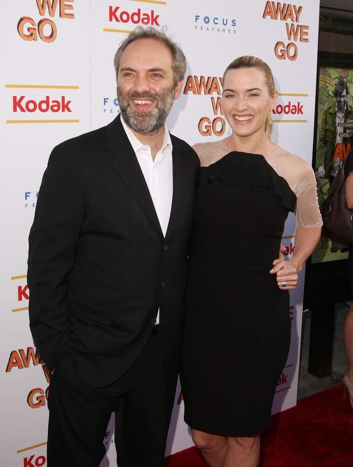 Sam Mendes and Kate Winslet. Photo: Stephen Lovekin, Getty Images