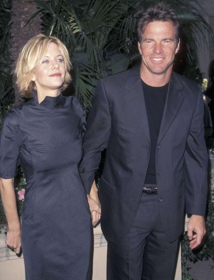 Meg Ryan and Dennis Quaid. Photo: Ron Galella, Ltd., WireImage