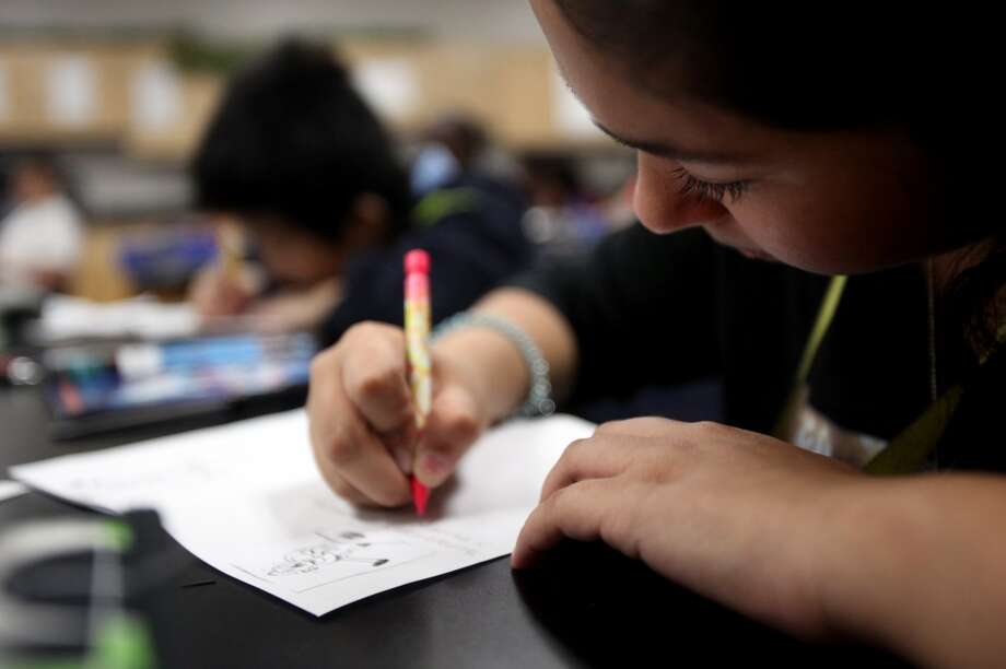 Fort Bend ISDRating: Five starsEnrollment: 69,123Math progress percentile: 90Reading Progress percentile: 86Spending index (spending compared to other districts): Very lowThe math and reading percentiles represent growth relative to other state campuses and districts.Source:FAST Photo: Mayra Beltran, Houston Chronicle