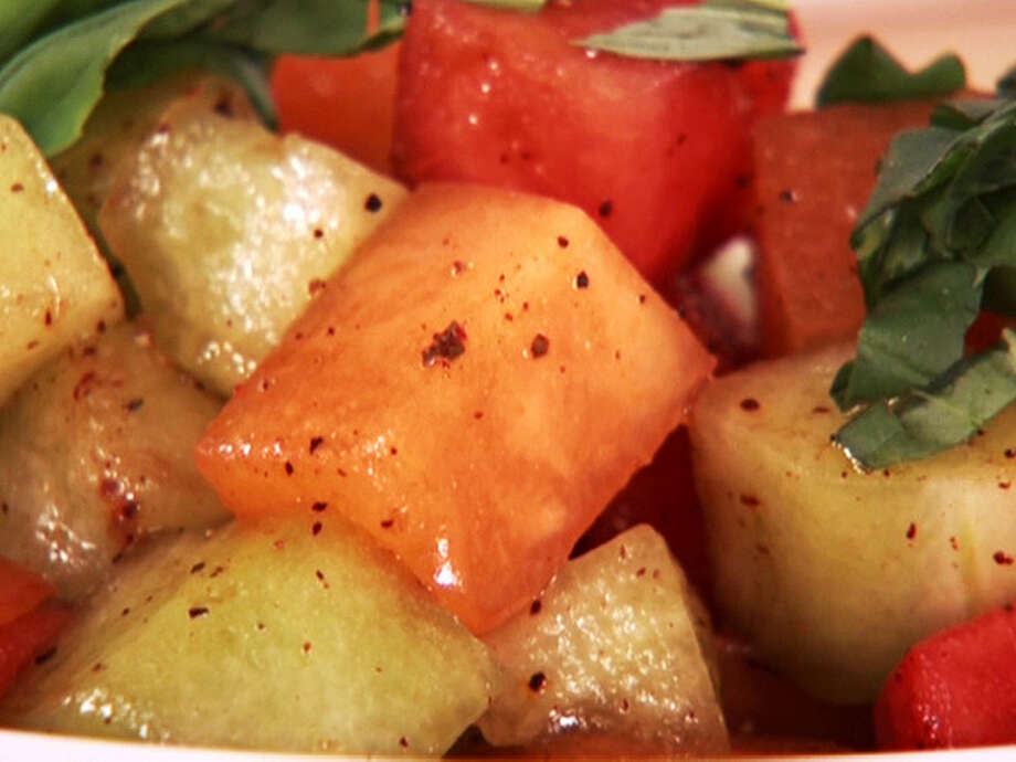 Balsamic Melon Salad/foodnetwork.com