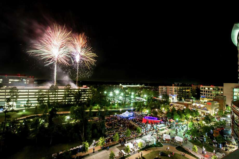 Celebrate the end of summer in style in The Woodlands with two nights of family-friendly festivities and fireworks. Photo: Courtesy Photo