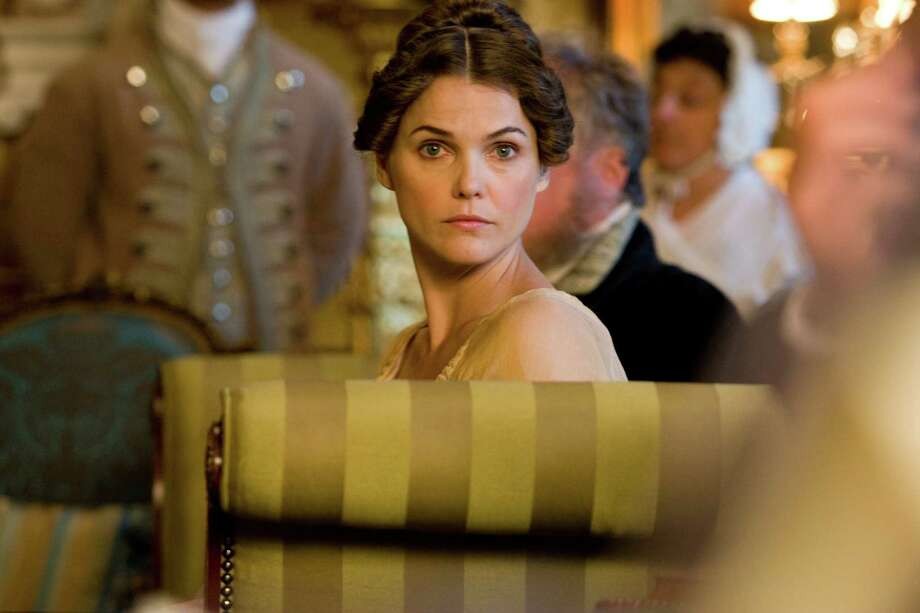 Keri Russell plays a woman searching for the perfect man at a Jane Austen theme park. / © SONY PICTURES ENTERTAINMENT INC.