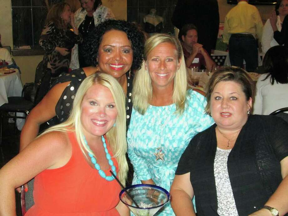 This group enjoyed the North Galveston County Chamber of Commerce's eighth annual Politically Incorrect Dinner in League City. Photo: Photo Courtesy Of The Amoco Federal Credit Union