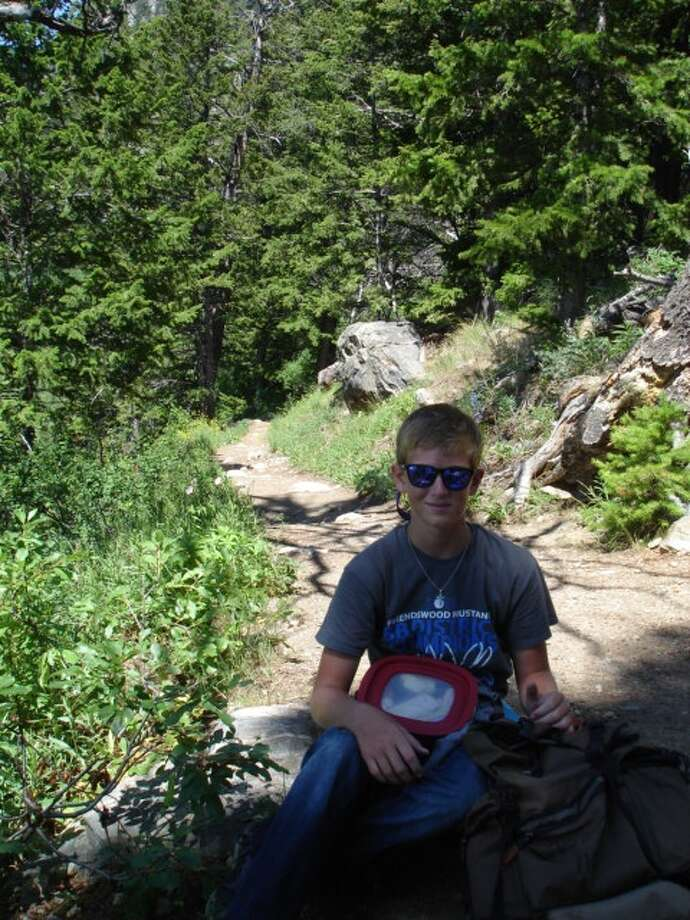 Cancer survivor Maxwell Priebe, 14, recently attended the Children's Grand Adventure nature retreat in Jackson Hole, Wyo. Photo: Contributed