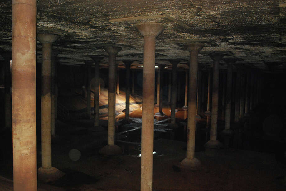 The Cistern was Houston's first underground drinking-water reservoir. Photo: Photo Courtesy Of The Buffalo Bayou Partnership
