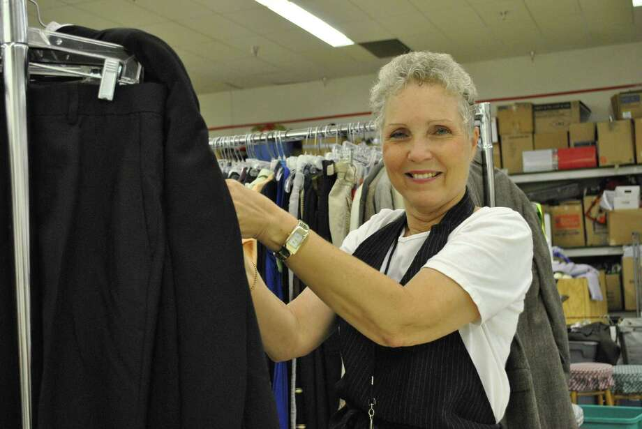 Retired teacher Norma Herndon has been volunteering at a Northwest Assistance Ministries resale shop for four years. Photo: Contributed