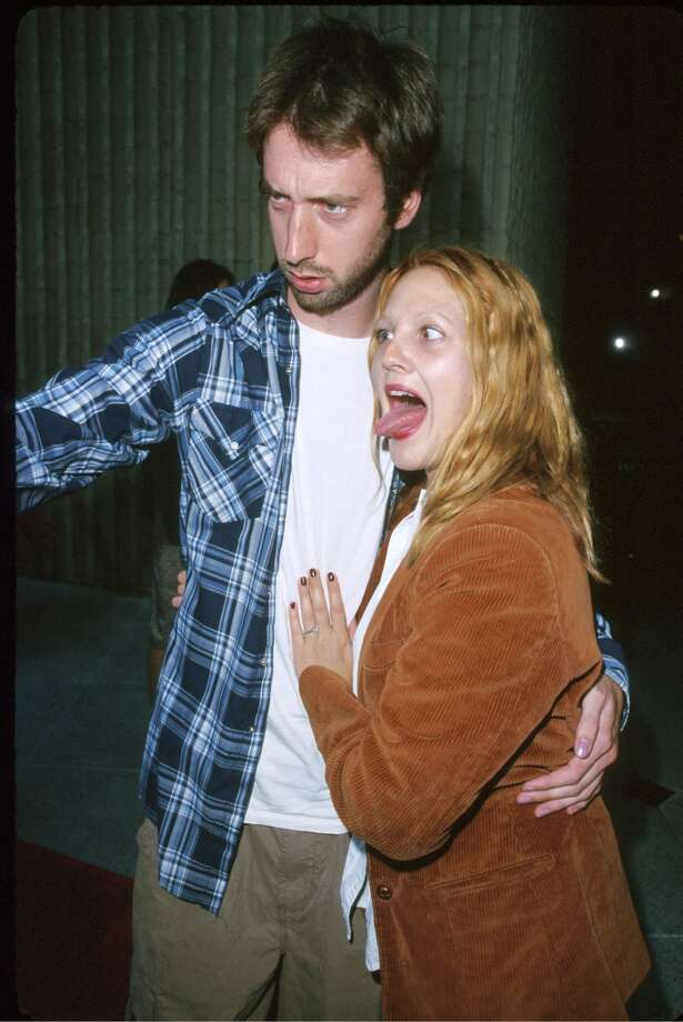 Drew Barrymore  with Tom Green Photo: SGranitz, WireImage