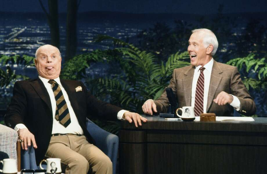 Don Rickles with Johnny  Carson Photo: NBC, NBCU Photo Bank Via Getty Images
