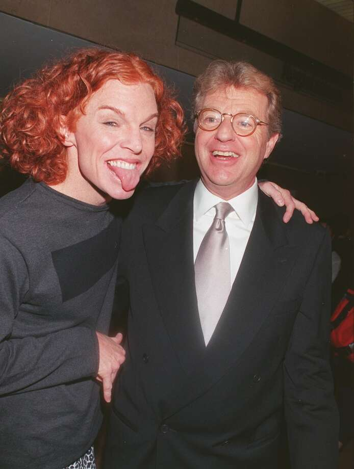 Carrot Top with Jerry Springer Photo: David Keeler, Getty Images