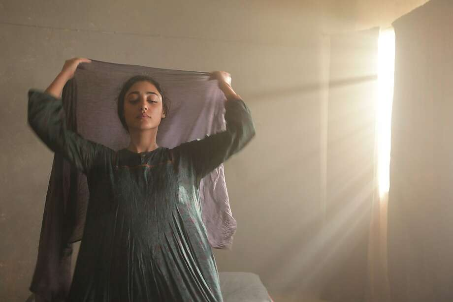 Golshifteh Farahani is a woman whose husband is rendered unable to speak by a bullet in his neck. Photo: Benoît Peverelli, Sony Pictures Classics