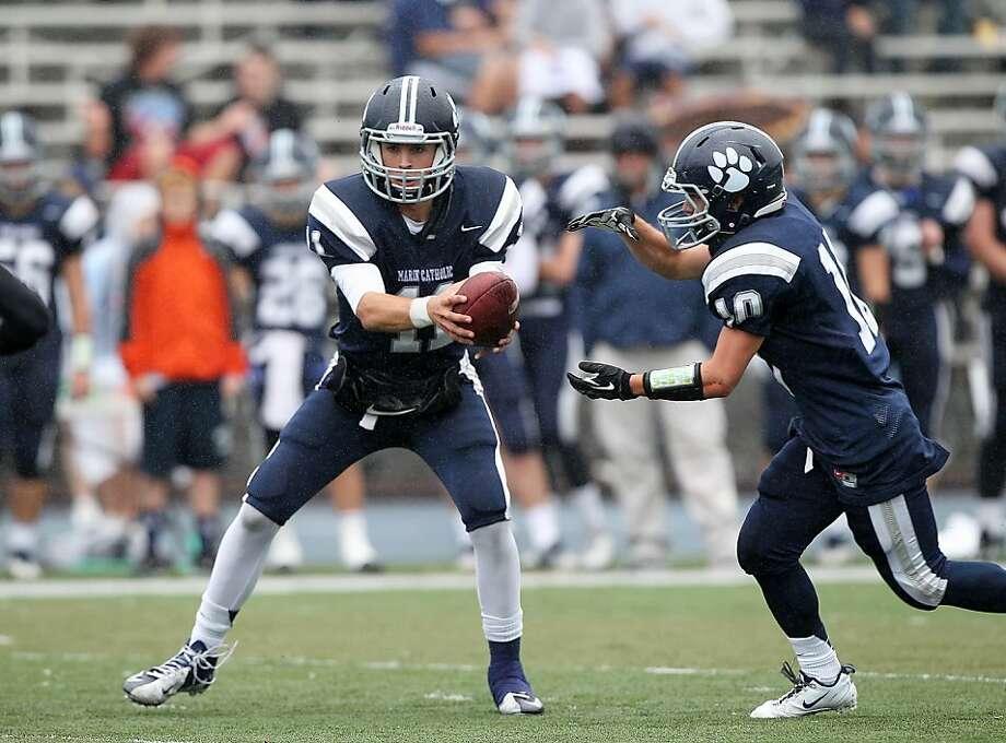 Morgan Mahalak got a scholarship from Oregon despite not having a varsity start at quarterback. Photo: Dennis Lee, MaxPreps