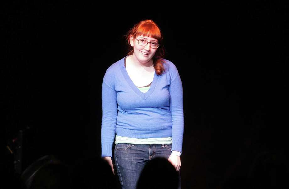 Comedian Emily Heller, pictured Jan 31, 2010 in New York City. Photo: Jim Spellman, . / 2010 Jim Spellman