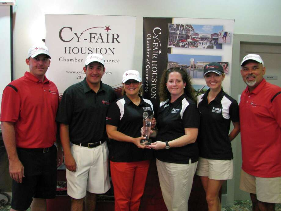 Competitors at the Fore Cy-Fair Golf Tournament will be treated to lunch and dinner after an afternoon of golf. Photo: Courtesy Of Cy-Fair Houston Chamber Of Commerce