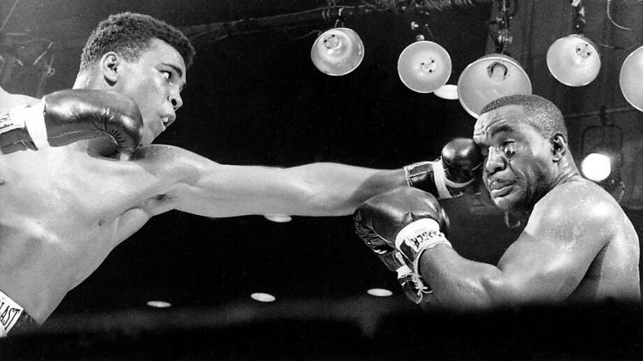 Cassius Clay was a hit at Oakland's McClymonds High. Photo: AP
