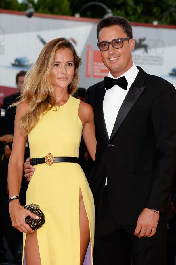 Natalia Borges and Lorenzo Tonetti attend the Opening Ceremony And 'Gravity' Premiere during the 70th Venice International Film Festival at the Palazzo del Cinema on August 28, 2013 in Venice, Italy.  (Photo by Pascal Le Segretain/Getty Images) Photo: Pascal Le Segretain, Getty Images