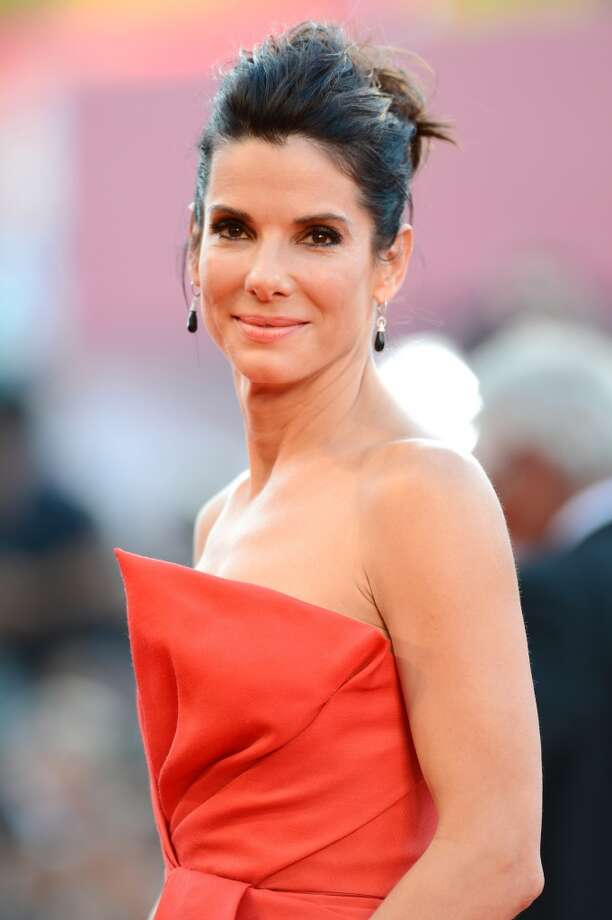 Actress Sandra Bullock attends the Opening Ceremony And 'Gravity' Premiere during the 70th Venice International Film Festival at the Palazzo del Cinema on August 28, 2013 in Venice, Italy.  (Photo by Ian Gavan/Getty Images) Photo: Ian Gavan, Getty Images