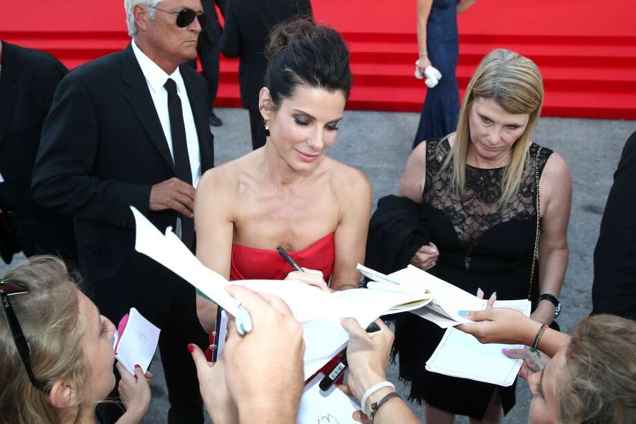 Actress Sandra Bullock attends the Opening Ceremony And 'Gravity' Premiere during the 70th Venice International Film Festival at the Palazzo del Cinema on August 28, 2013 in Venice, Italy.  (Photo by Andreas Rentz/Getty Images) Photo: Andreas Rentz, Getty Images