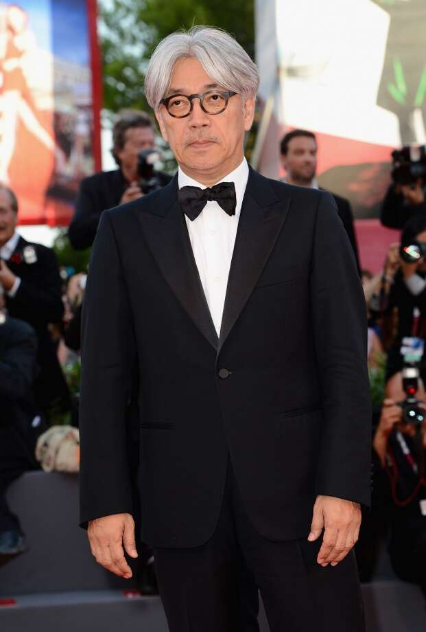 Jury member Ryuichi Sakamoto attends the Opening Ceremony And 'Gravity' Premiere during the 70th Venice International Film Festival at the Palazzo del Cinema on August 28, 2013 in Venice, Italy.  (Photo by Ian Gavan/Getty Images) Photo: Ian Gavan, Getty Images