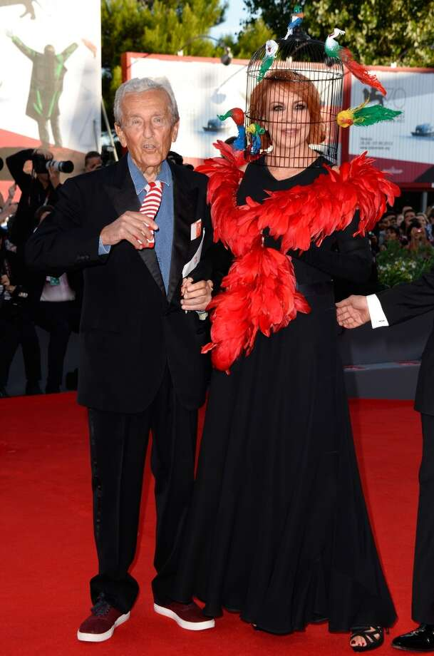Carlo Ripa di Meana and  Marina Ripa di Meana attend the Opening Ceremony And 'Gravity' Premiere during the 70th Venice International Film Festival at the Palazzo del Cinema on August 28, 2013 in Venice, Italy.  (Photo by Pascal Le Segretain/Getty Images) Photo: Pascal Le Segretain, Getty Images