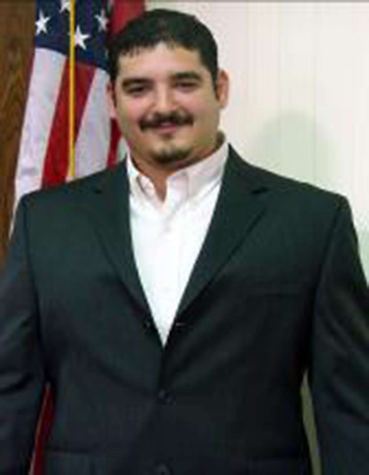 Michael Vela, the president of the Progreso school board, and his brother Omar Vela - the town mayor - were charged Wednesday in a public corruption case. Picured here is Michael Vela.