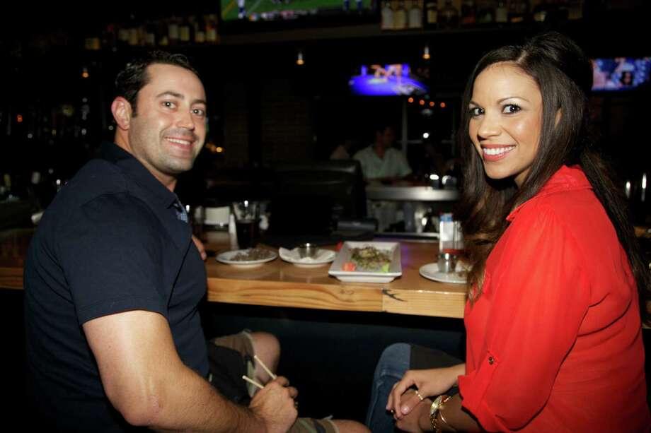 Anna Olivarez and Tony Straw.