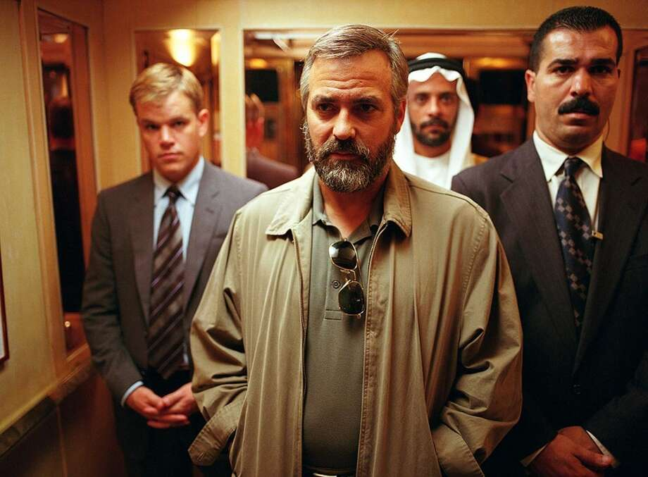 Clooney added a beard and more than 30 pounds for the film. Photo: HANDOUT, KRT