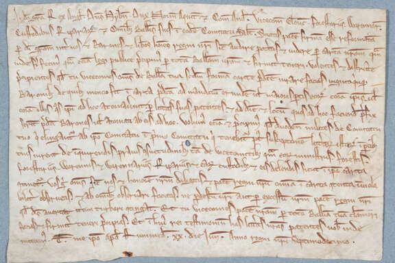 A rarely seen copies of the Magna Carta was issued in 1217.