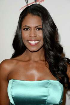 Reality-TV star Omarosa Manigault was also a bus passenger, reports say. (Photo by Jason Merritt/Getty Images for WWE) Photo: Jason Merritt, Getty Images For WWE / 2013 Getty Images