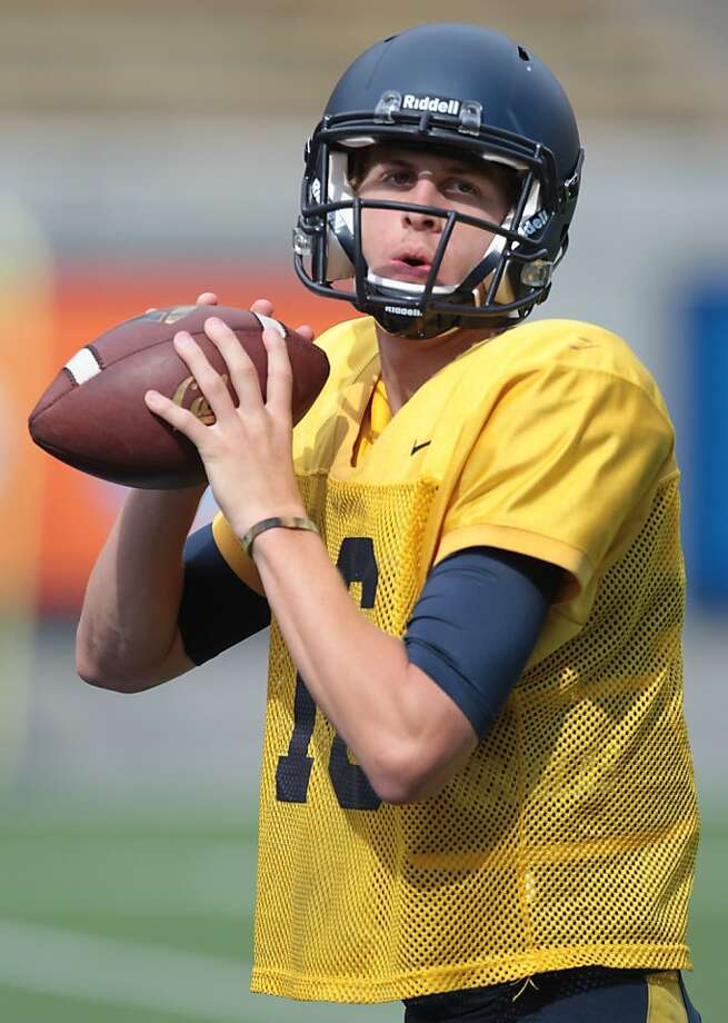 Freshman quarterback Jared Goff beat out Zach Kline in summer camp. Photo: Mathew Sumner, Special To The Chronicle