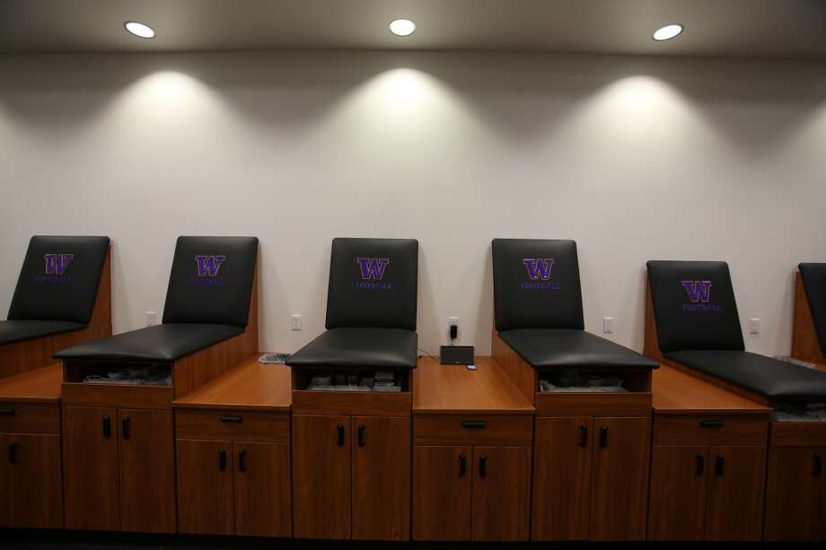 The medical room is shown in the newly renovated Husky Stadium at the University of Washington. The $250 million renovation of the stadium took almost two years to complete. Photographed on Wednesday, August 28, 2013. 2013. Photo: JOSHUA TRUJILLO, SEATTLEPI.COM