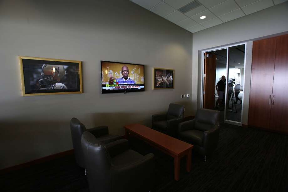 A suite is shown in the newly renovated Husky Stadium at the University of Washington. The $250 million renovation of the stadium took almost two years to complete. Photographed on Wednesday, August 28, 2013. 2013. Photo: JOSHUA TRUJILLO, SEATTLEPI.COM
