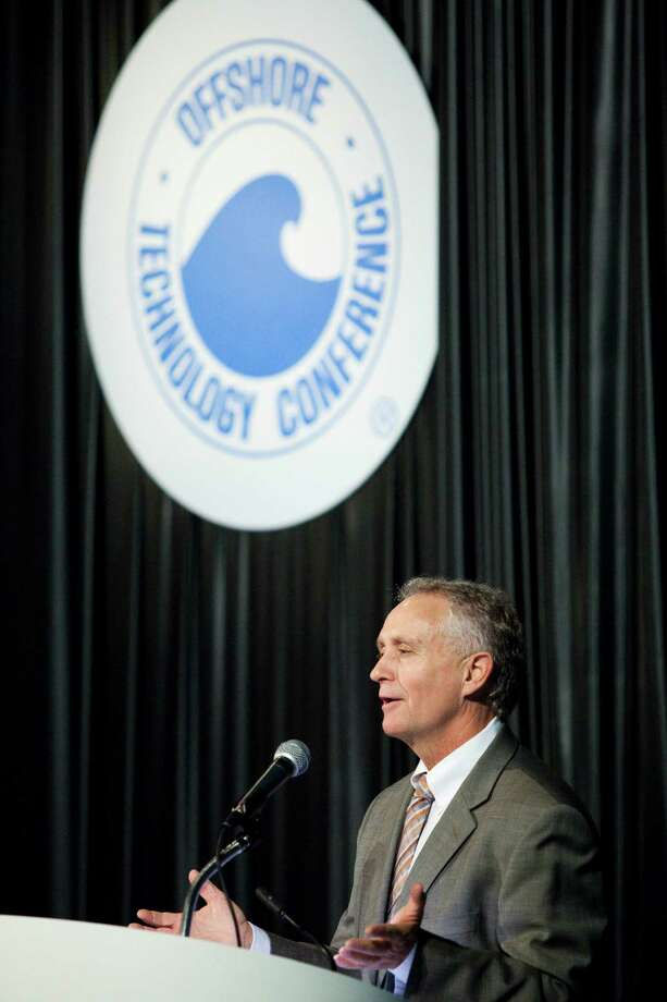 Randall Luthi of the National Ocean Industries Association says looming new offshore regulations and low natural gas prices may have held down interest. Photo: Eric Kayne / 2013 Eric Kayne