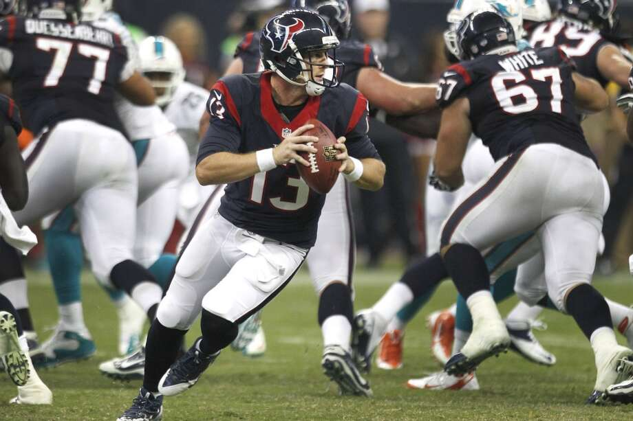 T.J. Yates, QB  Performance-based bonus: $9,326 Photo: Brett Coomer, Houston Chronicle