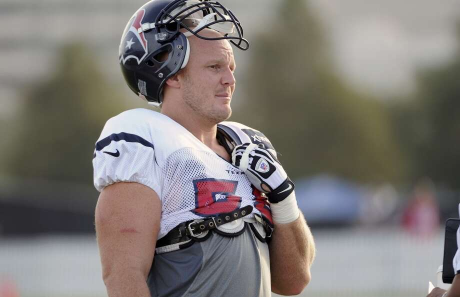 Chris Myers, OL  Performance-based bonus: $23,064 Photo: Pat Sullivan, Associated Press