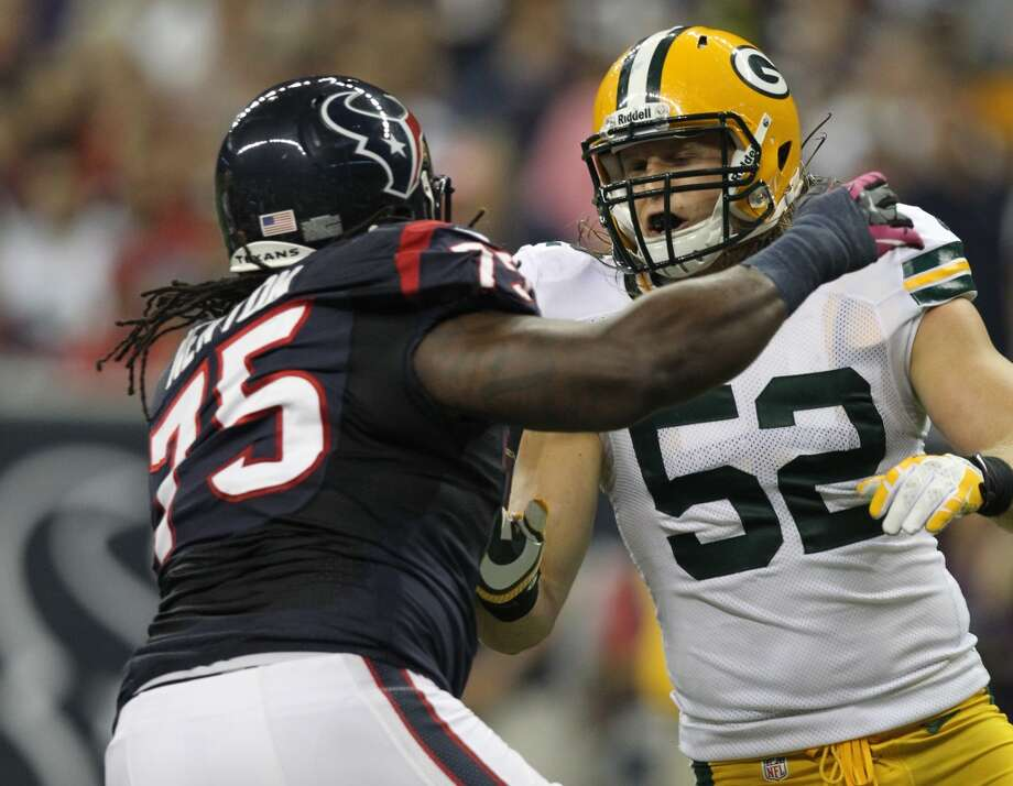 Derek Newton, OL  Performance-based bonus: $175,774 Photo: Nick De La Torre, Houston Chronicle